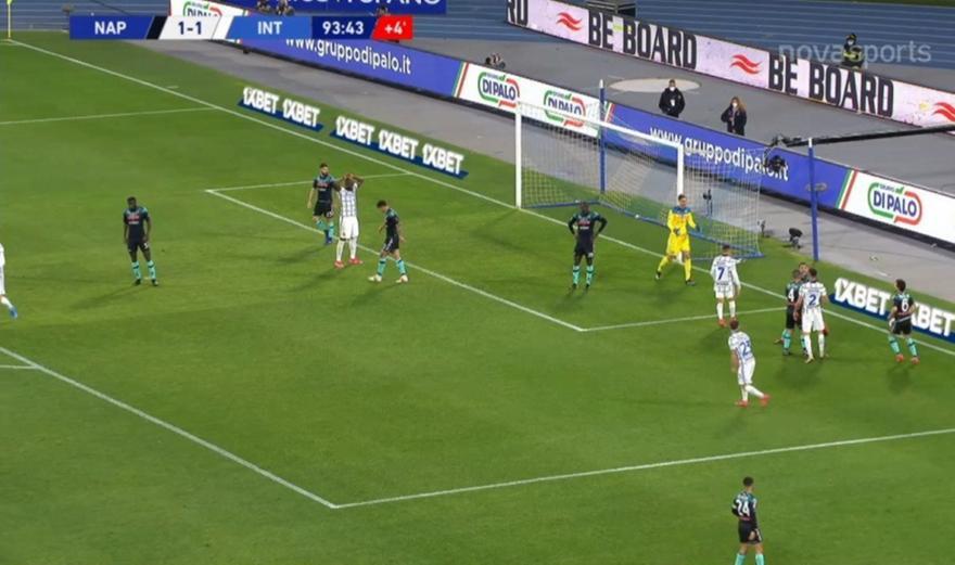 Νάπολι-Ίντερ: Τα highlights του ματς