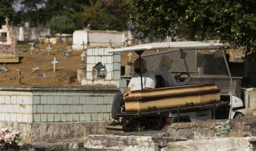 Βραζιλία: Πάνω από 373.000 οι νεκροί από κορωνοϊό