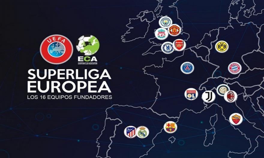Η ανάλυση Σωτηρακόπουλου για τη European Super League