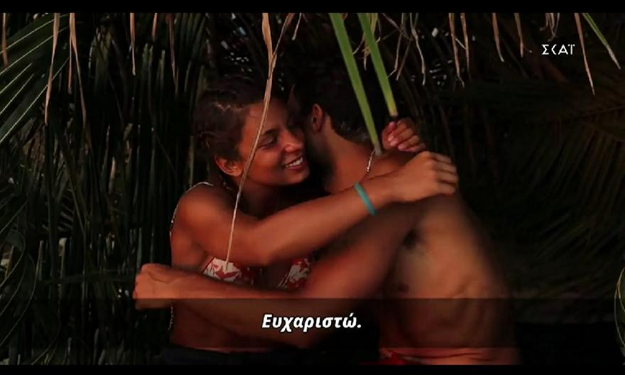 Survivor: Το ρομαντικό τετ-α-τετ Σάκη και Μαριλένας (video)