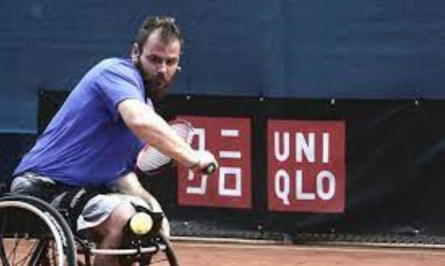 Τένις με αμαξίδιο: Διπλοκουπάτος ο Διαμαντής στην Αττάλεια