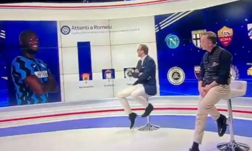 Ρατσιστικό σχόλιο στον αέρα του Sky Italia για Λουκάκου
