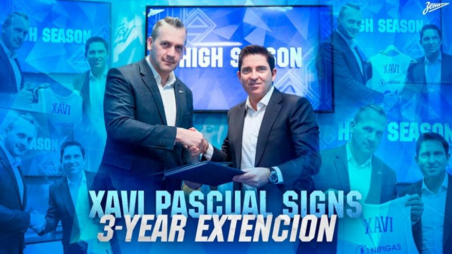 Ζενίτ: Ανακοίνωσε την ανανέωση με Πασκουάλ