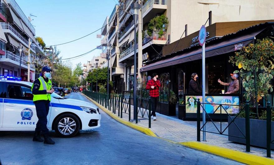 Περιστέρι: Επιχείρηση της Αστυνομίας στη Βεάκη