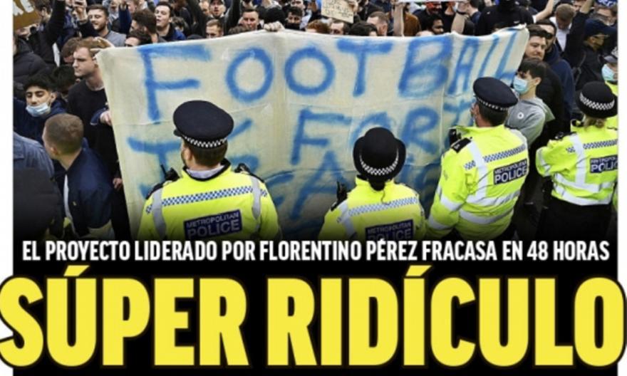 Marca: Το πρωτοσέλιδο για το ESL