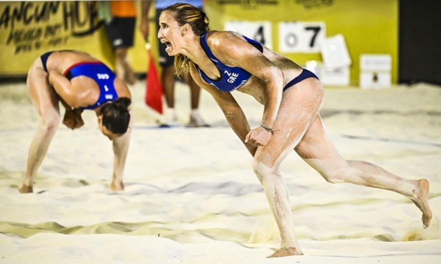 Σέρβις στο 2ο τουρνουά στο Μεξικό για Αρβανίτη-Καραγκούνη