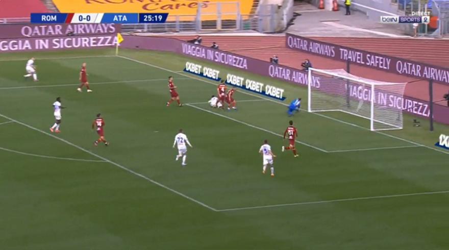 Ρόμα-Αταλάντα: 0-1 με τον Μαλινόφσκι