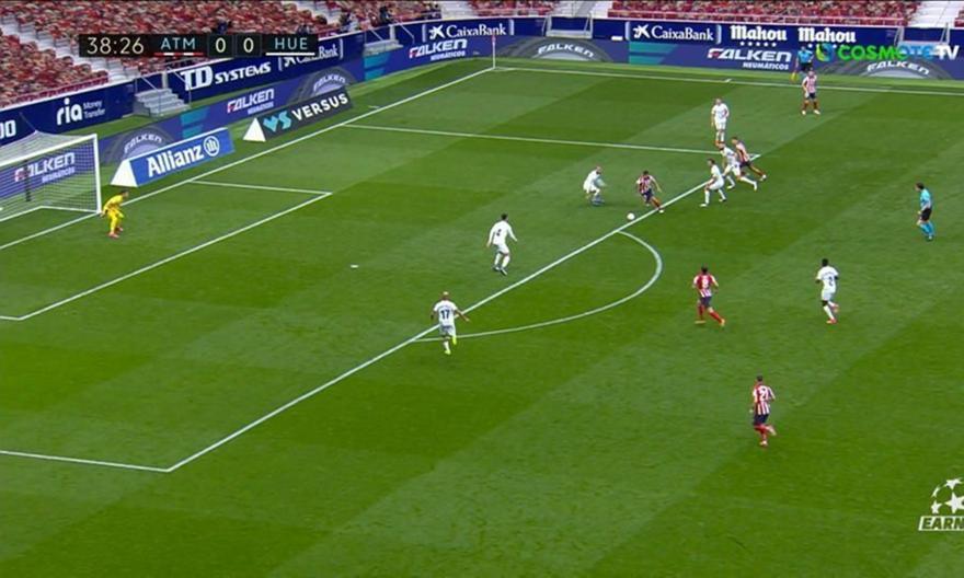 Ατλέτικο Μαδρίτης-Ουέσκα: 1-0 με τον Κορέα