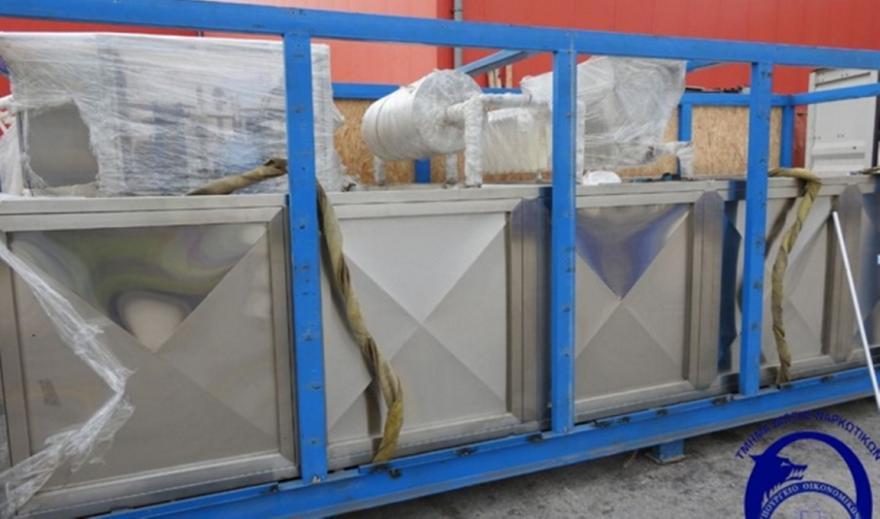 ΣΔΟΕ: Εντόπισε στον Πειραιά φορτίο 4 τόνων κάνναβης