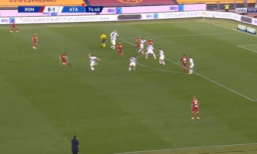 Ρόμα-Αταλάντα: 1-1 με σουτάρα του Κρίσταντε