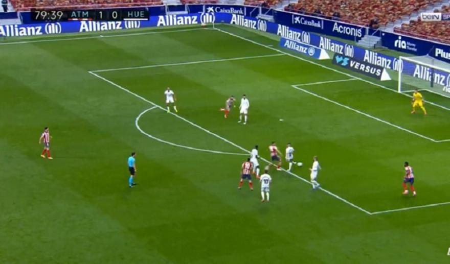 Ατλέτικο-Ουέσκα: 2-0 μετά από τραγικό λάθος του Σιόβα
