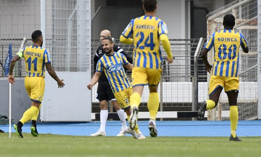 ΠΑΣ-Παναιτωλικός: Το γκολ του Μπαρμπόσα για το 0-1