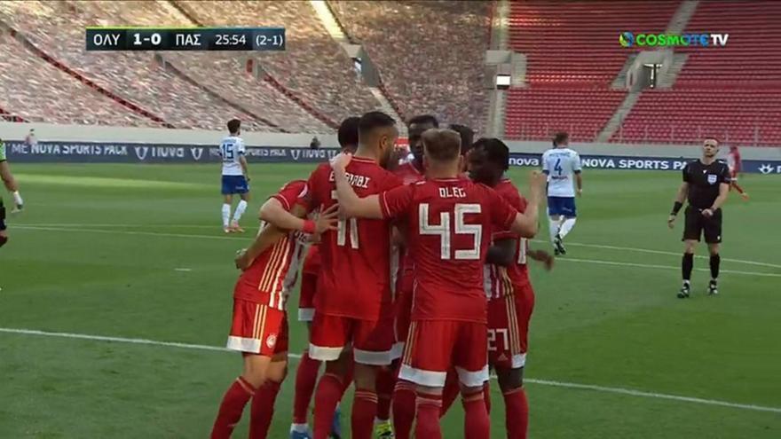 Ολυμπιακός-ΠΑΣ: 1-0 με πέναλτι του Ελ Αραμπί