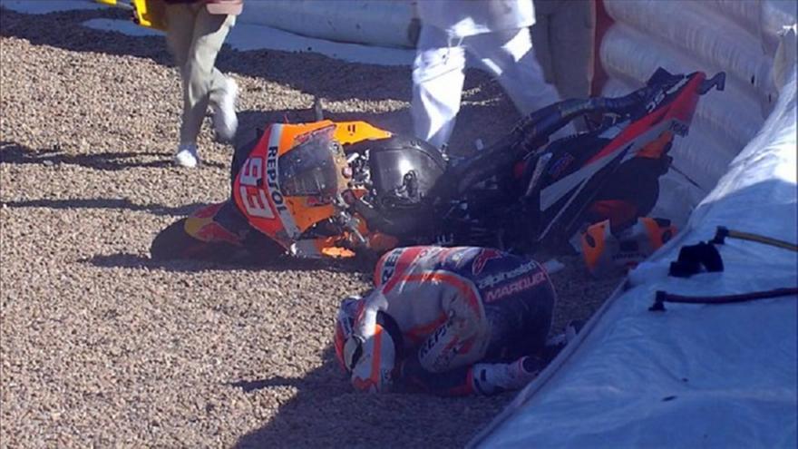 Σοκαριστικό ατύχημα Μάρκεθ, ευτυχώς δεν τραυματίστηκε