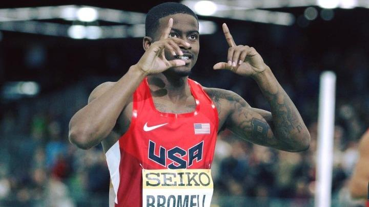 Τράιβον Μπρόμελ: Η καλύτερη επίδοση στα 100 μ.