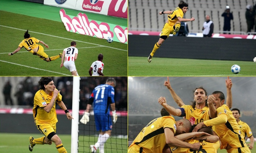 ΑΕΚ-Ολυμπιακός 4-4: Ο καλύτερος τελικός όλων των εποχών!
