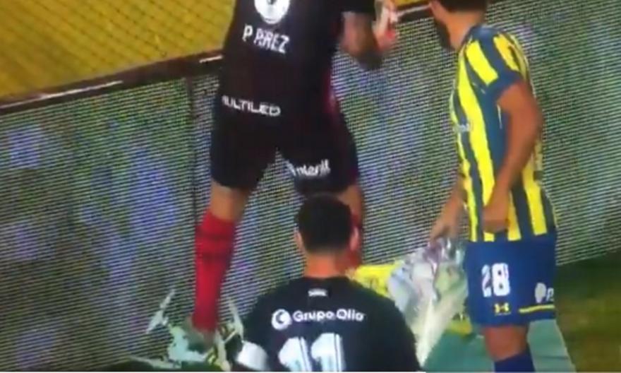 Αργεντινή: Παίκτης έσπασε drone που... εισέβαλε στο γήπεδο