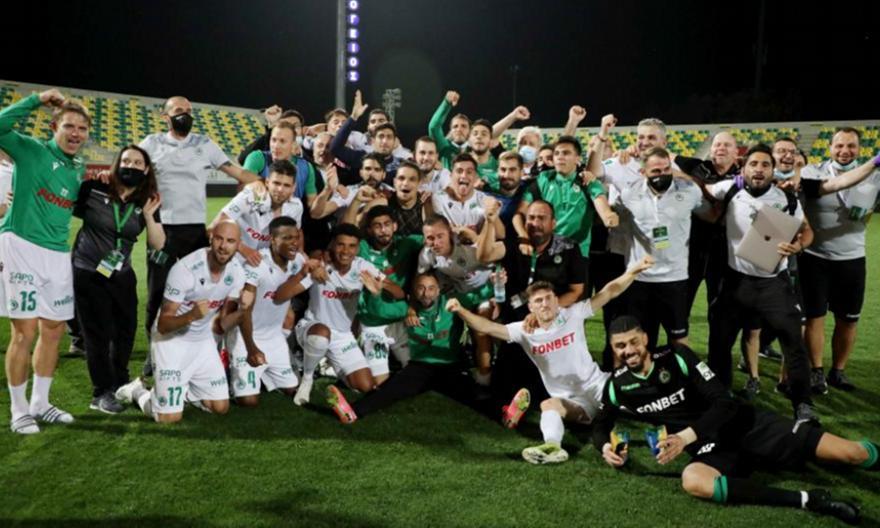 Oμόνοια: Πρωταθλήτρια Κύπρου ύστερα από 11 χρόνια (pic)