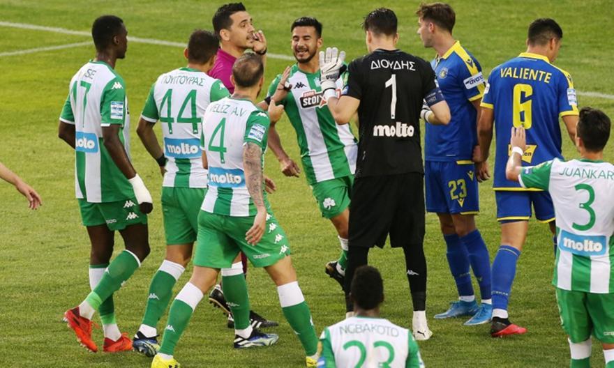 Παναθηναϊκός-Αστέρας Τρίπολης 2-2