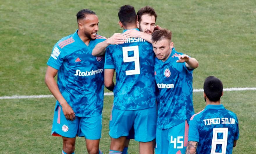 Άρης-Ολυμπιακός: Το γκολ του Φορτούνη για το 1-1 (video)