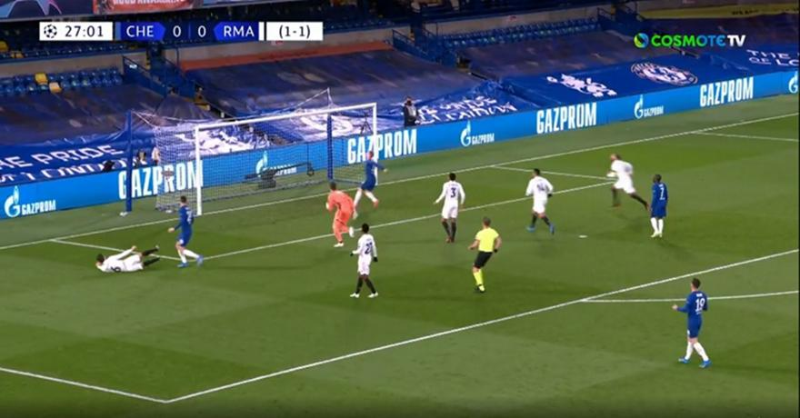 Τσέλσι-Ρεάλ: 1-0 με τον Βέρνερ