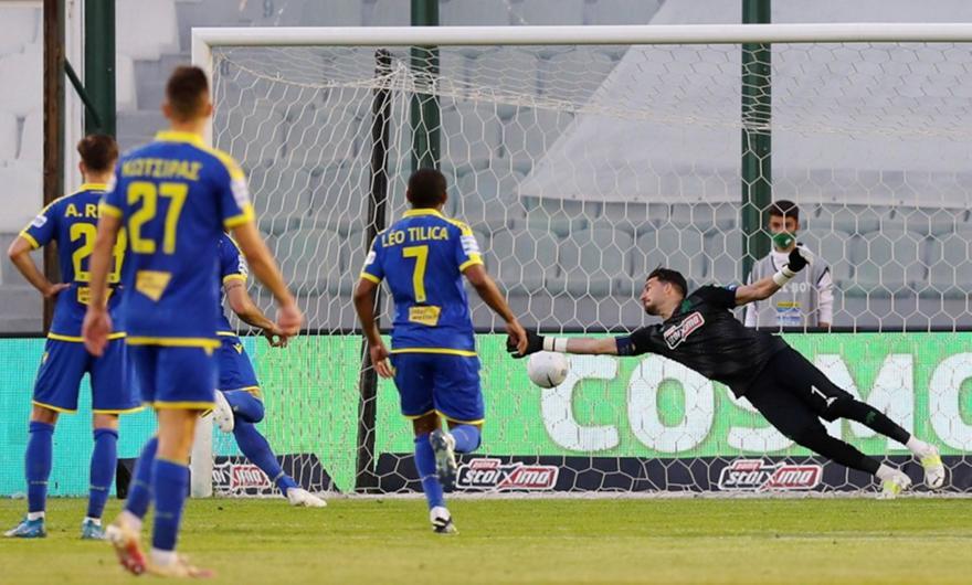 Παναθηναϊκός-Αστέρας Τρίπολης: Το 1-2 με ανύπαρκτο πέναλτι