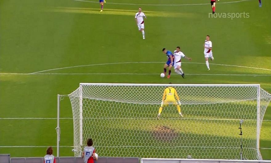 Μαγική ασίστ του Νίνη, εξαιρετικό τελείωμα του Δουβίκα και 1-0 ο Βόλος!