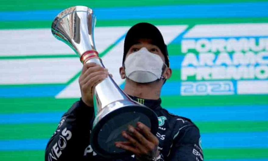 GP Βαρκελώνης: Νικητής ο Χάμιλτον, δεύτερος ο Φερστάπεν