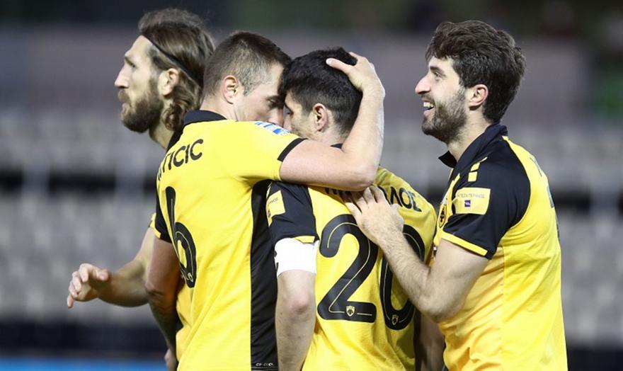 Παναθηναϊκός-ΑΕΚ 0-1