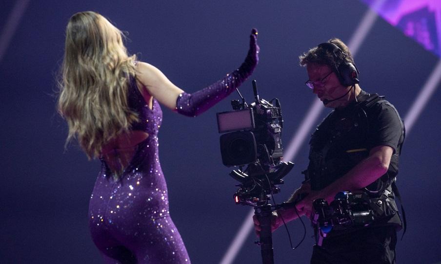 Eurovision: Εντυπωσιακή η Στεφανία στην πρώτη πρόβα
