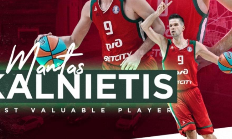 MVP της κανονικής περιόδου της VTB League ο Καλνιέτις