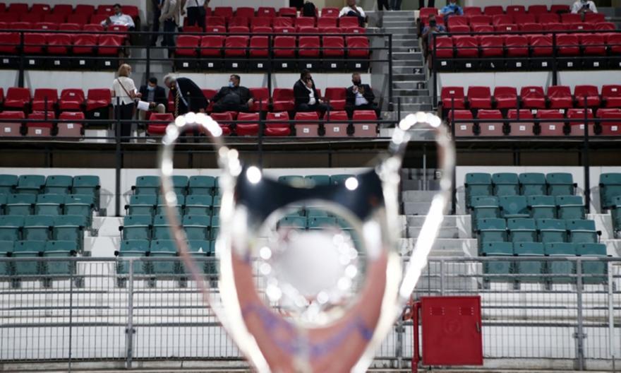 Τελικός Κυπέλλου: Προς διεξαγωγή χωρίς οπαδούς στο ΟΑΚΑ