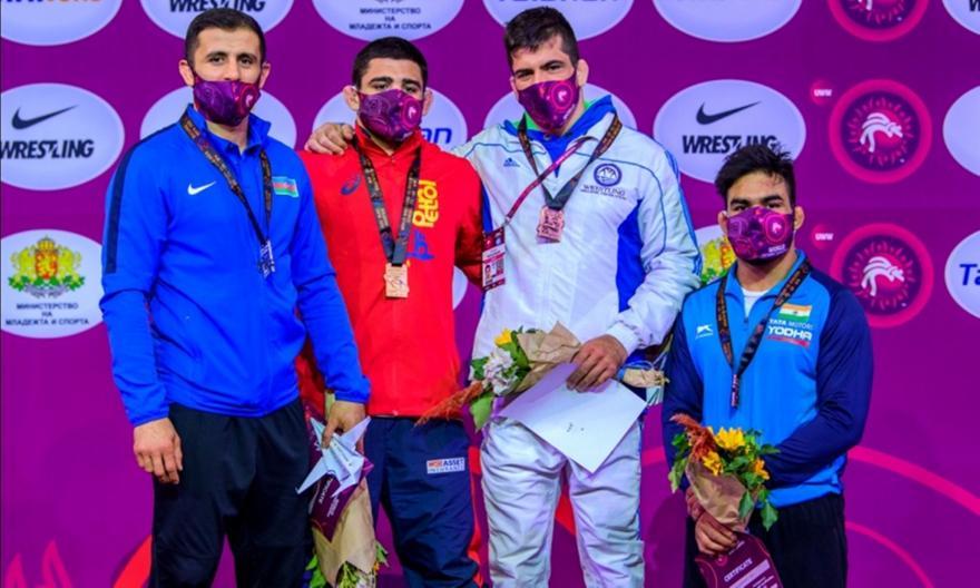«Χάλκινος» στο Παγκόσμιο Προολυμπιακό πάλης ο Πρεβολαράκης