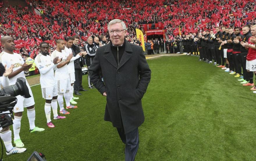 Ανατριχίλα και δάκρυα: Το «αντίο» του Σερ Άλεξ
