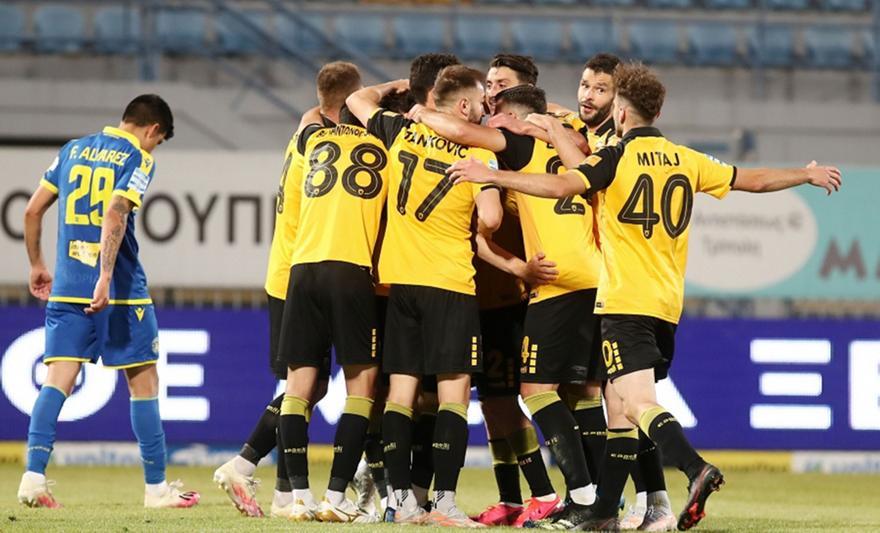 Το προβάδισμα της ΑΕΚ στην Τρίπολη με Ανσαριφάρντ
