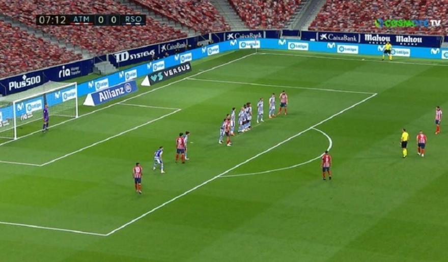 Ατλέτικο Μαδρίτης-Ρεάλ Σοσιεδάδ: Τα highlights του ματς