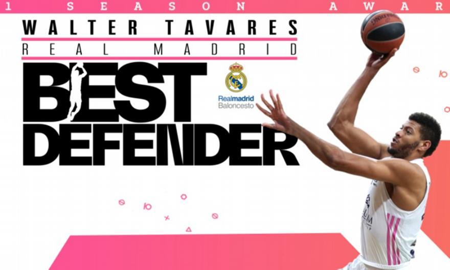 Euroleague: Κορυφαίος αμυντικός της χρονιάς ο Ταβάρες