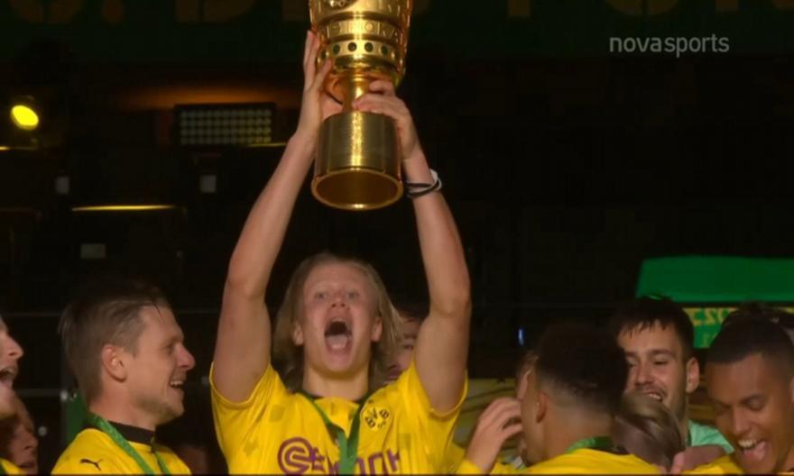 Λειψία-Ντόρτμουντ: Τα highlights του τελικού Κυπέλλου