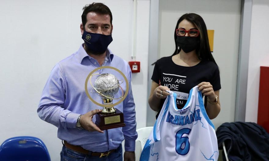 Τσάπας: «Η καλύτερη χρονιά στην ιστορία του Ιωνικού»