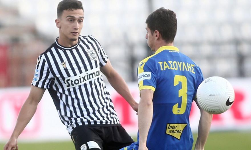 ΠΑΟΚ-Αστέρας Τρίπολης 0-1