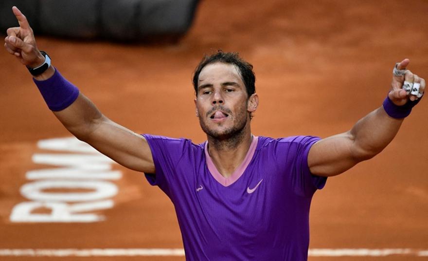 Ναδάλ: Νικητής στο τελικό του Rome Masters με Τζόκοβιτς