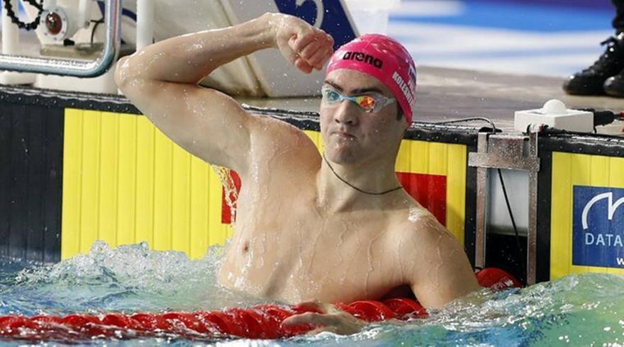 Παγκόσμιο ρεκόρ στα 50 μέτρα ύπτιο ανδρών από Κολέσνικοφ