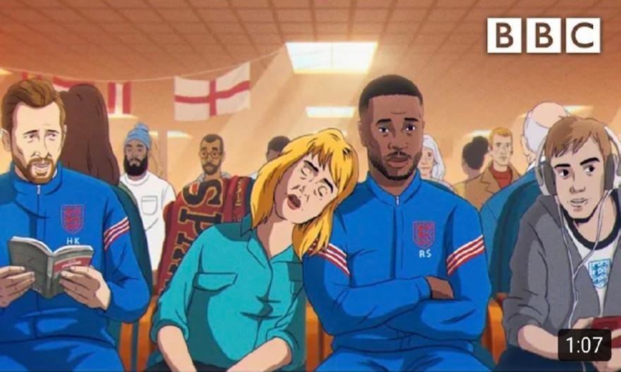 ΒΒC: Επικό trailer για το Euro με τους παίκτες καρτούν!
