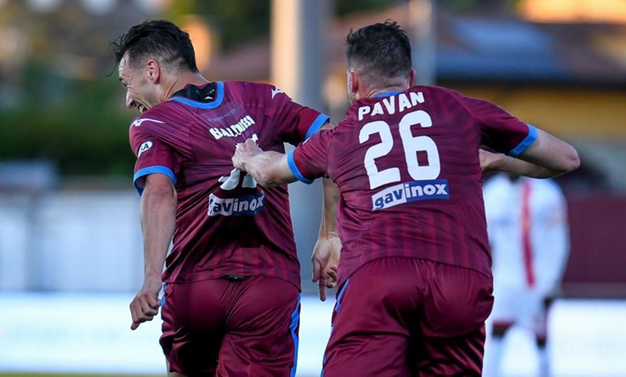 Τσιταντέλα-Μόντσα 3-0, Βενέτσια-Λέτσε 1-0