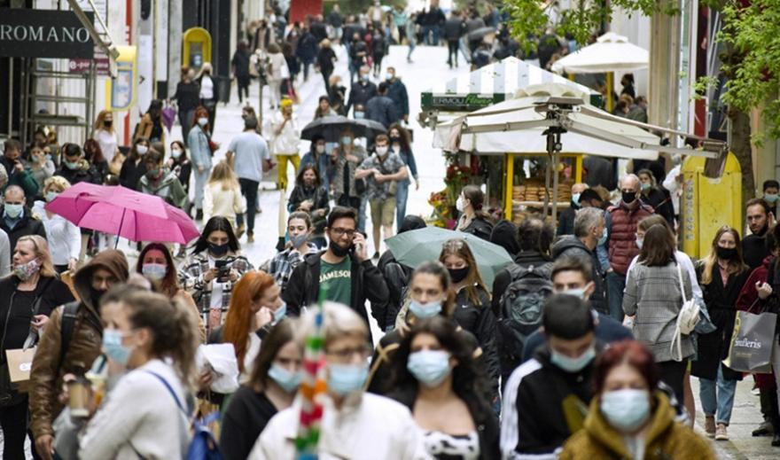 Κορωνοϊός: Εντοπίστηκε μετάλλαξη στο κέντρο της Αθήνας