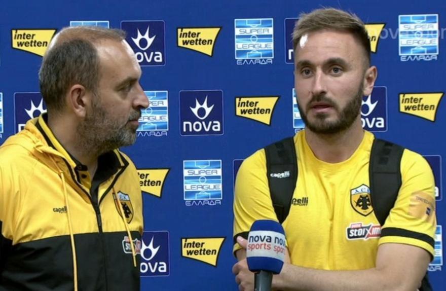 Τάνκοβιτς: «Ικανοποιημένος από την πρώτη μου σεζόν»