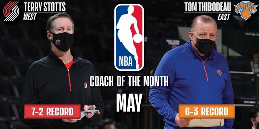 ΝΒΑ: Θίποντο και Στοτς οι προπονητές του μήνα