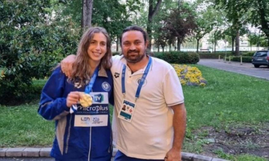 Ντουντουνάκη: «Μόνο το ρεκόρ περίμενα, όχι το χρυσό»