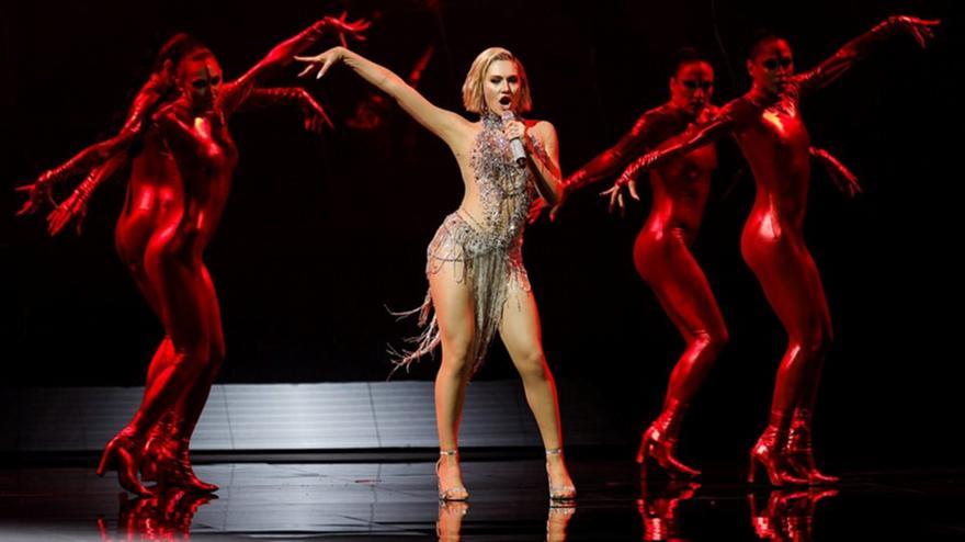 Eurovision: Καυτή με το «El Diablo» η Έλενα Τσαγκρινού