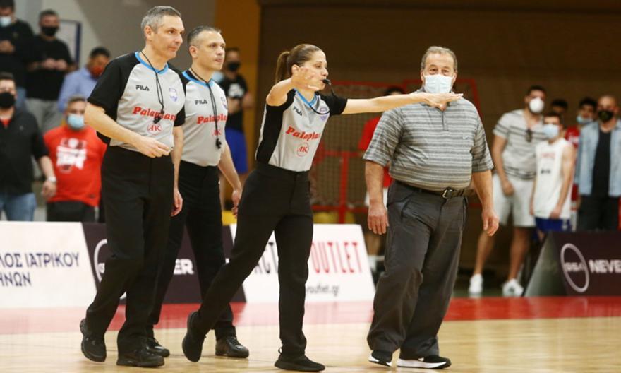 Εκτός playoffs οι διαιτητές του Ολυμπιακός-Παναθηναϊκός